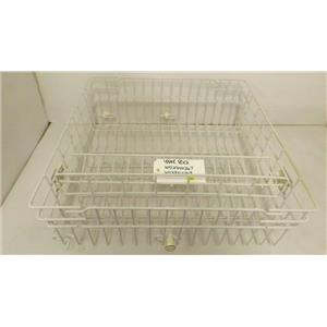 GENERAL ELECTRIC DISHWASHER WD28X0267 WD28X10369 UPPER RACK USED