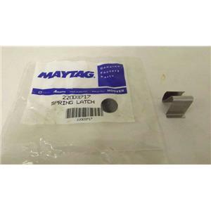 MAYTAG WHIRLPOOL WASHER 22003717 SPRING LATCH NEW
