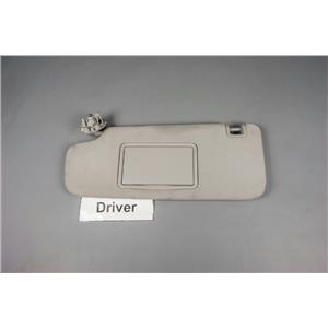 09-14 Chevrolet Malibu Aura Volt Driver Left Sun Visor Covered Mirror Adjust Bar