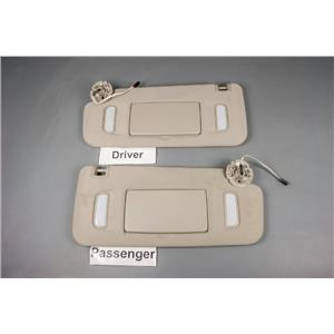 2014 Chevrolet Traverse Sun Visor Set with Lighted Mirrors & Adjust Bars
