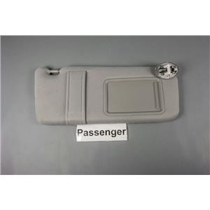 2007-2011 Toyota Camry Passenger Side Sun Visor Covered Lighted Mirror