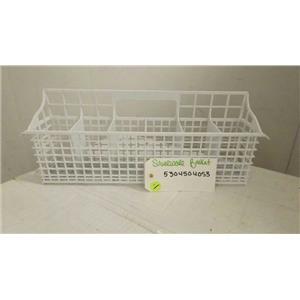 ELECTROLUX FRIGIDIARE DISHWASHER 5304504053 SILVERWARE BASKET USED