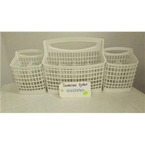 KENMORE ELECTROLUX DISHWASHER 154423901 SILVERWARE BASKET USED