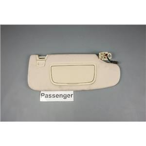 2014 Ford Fusion Sun Visor - Passenger Side with Covered Lighted Mirror
