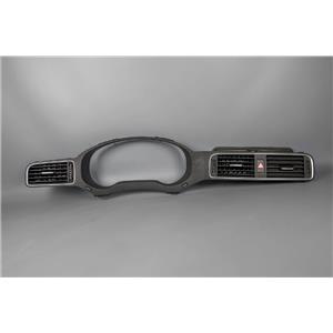2011-2014 Volkswagen Jetta Speedometer Cluster Dash Bezel with Vents & Hazard Switch