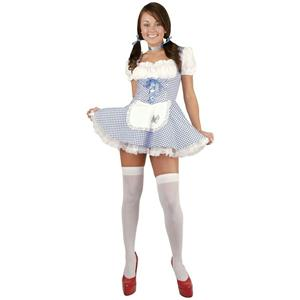 Charades Dorothy Sexy Adult Costume Size Medium 8-10