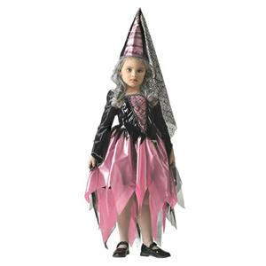 Disguise Thy Wicked Court Girl's Dark Gothic Princess Child Costume 3T-4T