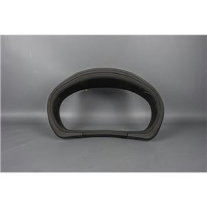2011 Subaru Impreza Speedometer Cluster Dash Bezel Black inner vessel, black