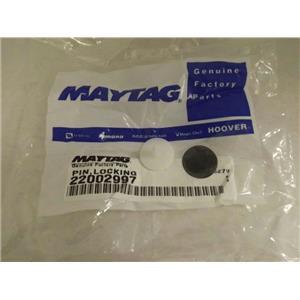MAYTAG WHIRLPOOL WASHER 22002997 LOCKING PIN NEW