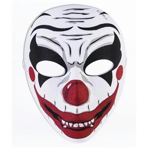 Forum Novelties Evil Clown Half Face Mask