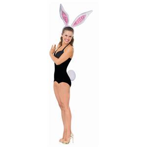 Jumbo Easter Rabbit Bunny Kit Adult Headband Giant Ears Tail Costume Accessory