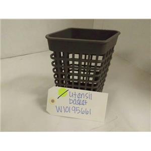 KITCHEN AID DISHWASHER W10195661 UTENSIL BASKET USED