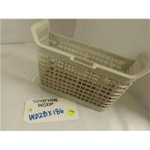 GENERAL ELECTRIC DISHWASHER WD28X186 (HALF) SILVERWARE BASKET USED
