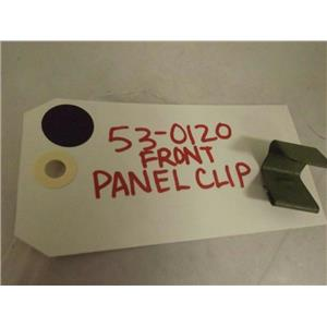 MAYTAG WHIRLPOOL WASHER 53-0120 FRONT PANEL CLIP NEW