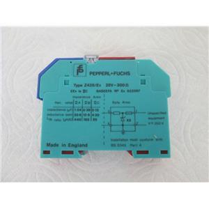Pepperl Fuchs/Baseefa Ex822097 Type Z428/Ex Z-System Single Zener Barrier Module