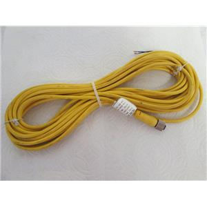 Mencom Corp MDC-3FP-10M  M12 Straight Female 10 Meter Cordset Molded Cable