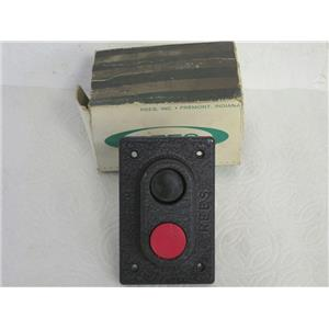 Rees 00580-032 (One Inch) Heavy Duty, Double Plunger, Push Button Switch