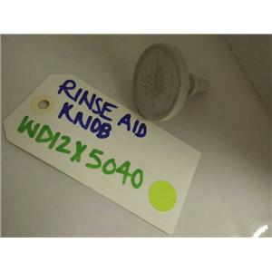 GENERAL ELECTRIC DISHWASHER WD12X5040 RINSE AID CAP USED