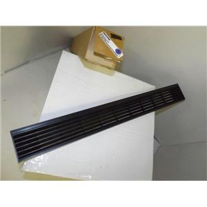 MAYTAG WHIRLPOOL REFRIGERATOR D7520511 GRILLE TOE (BLACK) NEW