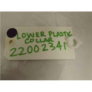 MAYTAG WHIRLPOOL WASHER 22002341 LOWER PLASTIC COLLAR NEW
