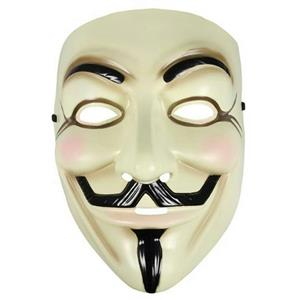V for Vendetta Plastic Licensed Guy Fawkes Mask