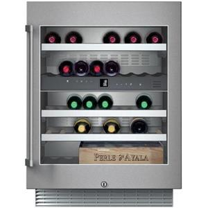 "Gaggenau 24"" 34 Bottle Cap Dual Temp Under Counter Wine Storage Unit RW404761"