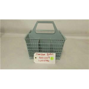 GENERAL ELECTRIC WHIRLPOOL DISHWASHER R0910009 101D3986 SILVERWARE BASKET USED