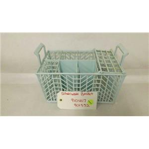 MAYTAG WHIRLPOOL DISHWASHER 910407 901532 SILVERWARE BASKET USED