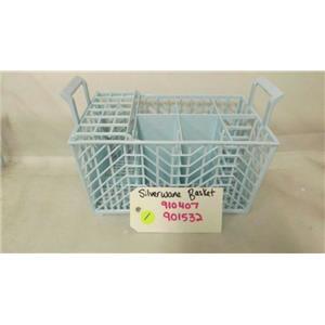 WHIRLPOOL DISHWASHER 910407 901532 SILVERWARE BASKET USED