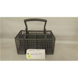WHIRLPOOL DISHWASHER W10222097 SILVERWARE BASKET USED