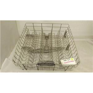 KITCHENAID WHIRLPOOL DISHWASHER W10350382 UPPER DISHRACK USED
