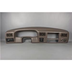 2001 Ford F250 Dash Trim Bezel with 4WD switch AS IS SEE PHOTOS