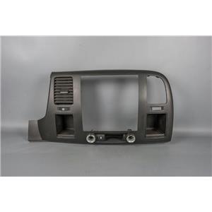 2007-2013 Silverado GMC Sierra Radio Climate Dash Trim Bezel with 12V Traction