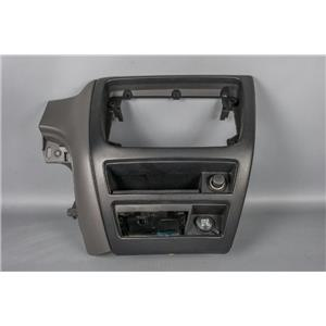2002 Ford Taurus Radio Climate Dash Trim Bezel Two Tone with 12 Volt Outlets