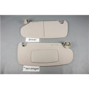 2002 Dodge Ram Sun Visor Set with Passenger Side Covered Mirror