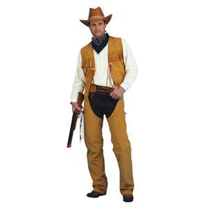 Peter Alan Adult Men's Male Western Cowboy Costume Size Medium