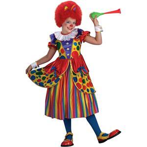 Forum Novelties Girl's Clown Princess Child Costume Dress Size Small 4-6