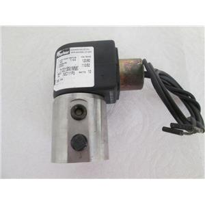 Parker 71221SN1MM00 2-Way Direct Acting Skinner Solenoid Valve, Normally Open