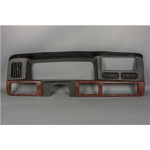 1997 Jeep Grand Cherokee Dash Trim Bezel with Vents and Woodgrain trim