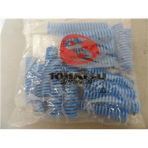 Tohatsu Springs 0000077274 Coil Spring Blue (27MM OD X 13.5MM 1 DX 100L) QTY 20
