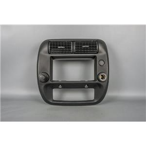 2010 Ford Ranger Radio Climate Dash Trim Bezel with Vents & 12 Volt Outlet