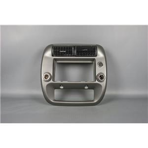 1995-2011 Ford Ranger Radio Climate Dash Trim Bezel w/ 12V & Airbag Indicator