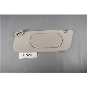 2003 Ford Explorer Sun Visor - Driver Side with Covered Mirror - Gray