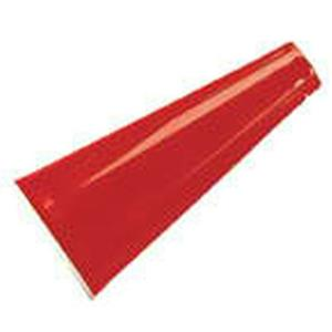 Red Plastic Megaphone Costume Accessory Director Cheerleader Prop