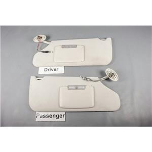 2008-2014 Avenger 11-14 Chrysler 200 Sun Visor Set w/ Lighted Mirrors & Homelink