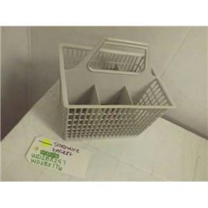 GENERAL ELECTRIC DISHWASHER WD28X257 WD28X176 SILVERWARE BASKET USED