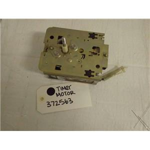 WHIRLPOOL WASHER 372563 MOTOR TIMER USED