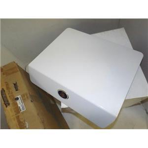 MAYTAG WHIRLPOOL WASHER 22002260 DOOR PANEL (WHITE W/ MEDALLION) NEW