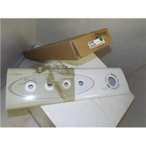 MAYTAG WHIRLPOOL DRYER 37001084 FACIA NEW