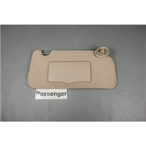 2005 Chevrolet Equinox Sun Visor - Passenger Side with Covered Mirror